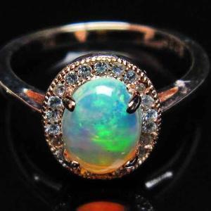 プレシャスオパール 指輪 l388-154|ginza-todo