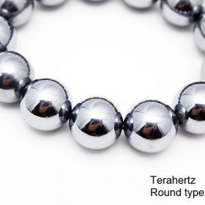 パワーストーン 天然石 テラヘルツブレスレット ラウンド17.5mm 《rv》 t10-988|ginza-todo