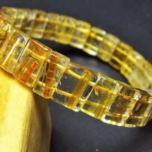ゴールドタイチンルチル バングル t107-2992|ginza-todo