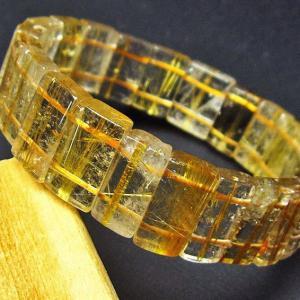 ゴールドタイチンルチル バングル  t107-2999|ginza-todo