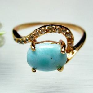 ラリマー 指輪 (12号) t113-7509 ginza-todo