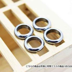 テラヘルツ鉱石 ピンキーリング  指輪 12mm t120-1832|ginza-todo