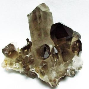 ブラジル産  モリオン 純天然 黒水晶 クラスター t143-1011|ginza-todo
