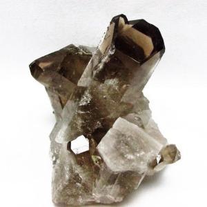 ブラジル産  モリオン 純天然 黒水晶 クラスター t143-1073|ginza-todo