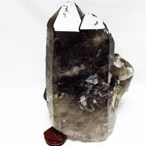 1.4Kg ブラジル産  モリオン 純天然 黒水晶 クラスター t143-1227|ginza-todo