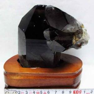 ブラジル産  モリオン 純天然 黒水晶 クラスター t143-849|ginza-todo