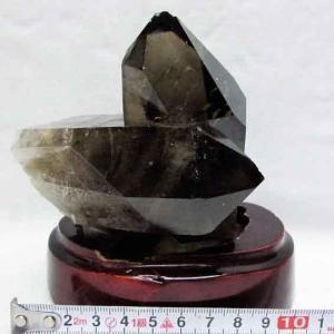 ブラジル産  モリオン 純天然 黒水晶 クラスター t143-851|ginza-todo