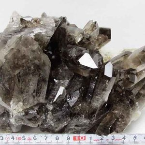 2.2Kg ブラジル産  モリオン 純天然 黒水晶 クラスター t143-963|ginza-todo