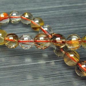 金針ルチル水晶ブレスレット7mm t15-9494|ginza-todo