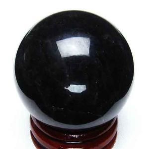モリオン 純天然 黒水晶  丸玉 36mm t220-2958|ginza-todo