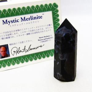 ヘブンアンドアース社 証明書付 ミスティック メルリナイト アゾゼオ  六角柱 t266-3255|ginza-todo