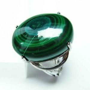 マラカイト 指輪 t275-16820|ginza-todo