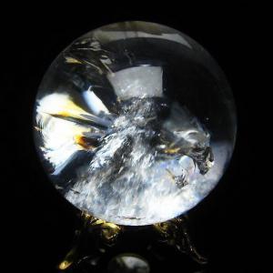 虹入り ヒマラヤ水晶 丸玉 30mm  t294-2701|ginza-todo
