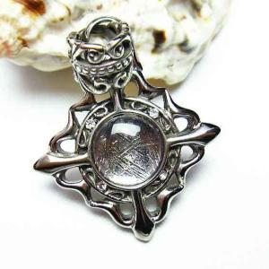 ギベオン メテオライト隕石 中世の紋章  ペンダント t309-1071|ginza-todo