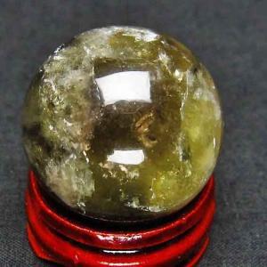 ライトニング水晶 丸玉 28mm t317-2155|ginza-todo