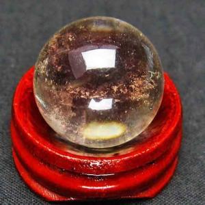 ライトニング水晶 丸玉 21mm t317-2342|ginza-todo