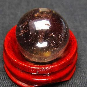 ライトニング水晶 丸玉 20mm t317-2346|ginza-todo