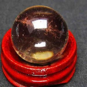 ライトニング水晶 丸玉 20mm t317-2362|ginza-todo