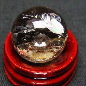 ライトニング水晶 丸玉 20mm t317-2381|ginza-todo