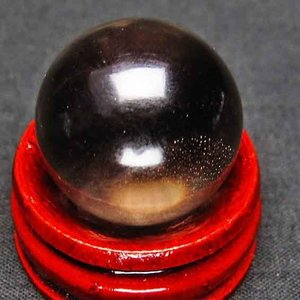 ライトニング水晶 丸玉 22mm t317-2399|ginza-todo