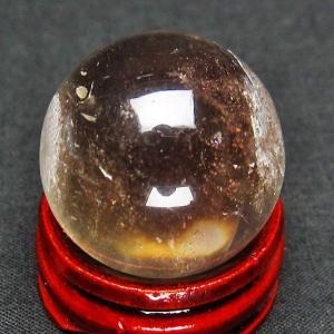 ライトニング水晶 丸玉 26mm t317-2507|ginza-todo