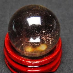 ライトニング水晶 丸玉 24mm t317-2526|ginza-todo