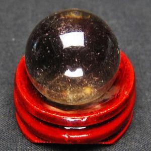 ライトニング水晶 丸玉 21mm t317-2536|ginza-todo