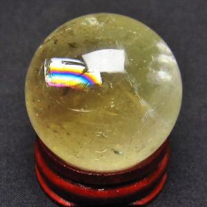 シトリン水晶 丸玉 31mm  t318-2287|ginza-todo