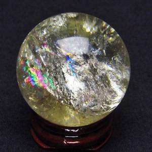 シトリン水晶 丸玉 36mm  t318-2633|ginza-todo