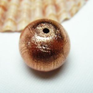 宇宙からの贈り物♪パワーストーン 天然石 ピンクゴールドギベオン(メテオライト)粒売12mm|ginza-todo