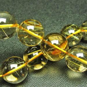 ゴールドタイチンルチル ブレスレット 16mm t36-5589|ginza-todo