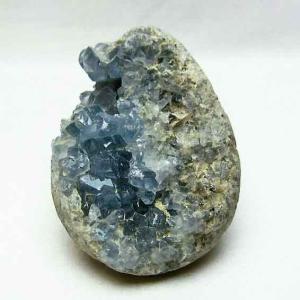 セレスタイト 天青石 原石 t385-12491|ginza-todo