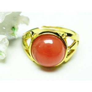 インカローズ ロードクロサイト 指輪 (15号) t426-6518|ginza-todo|02