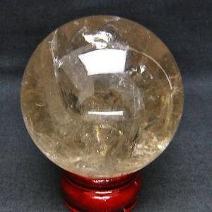 虹入り ライトニング水晶 丸玉 72mm  t529-4766 ginza-todo