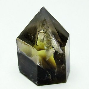 虹入り シトリン水晶 六角柱 t61-9261|ginza-todo