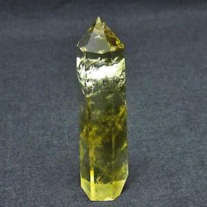 シトリン水晶 六角柱 t61-9648|ginza-todo