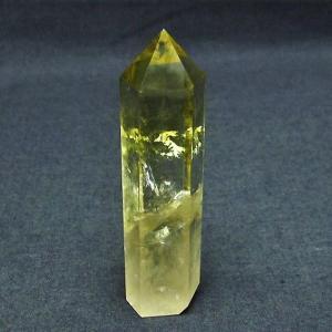 シトリン水晶 六角柱 t61-9655|ginza-todo