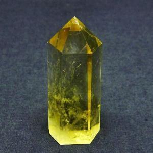 シトリン水晶 六角柱 t61-9694|ginza-todo