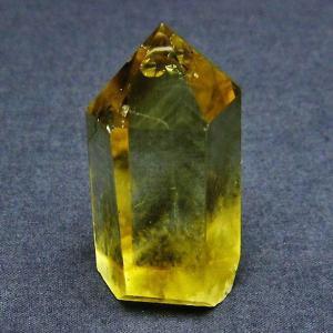 シトリン水晶 六角柱 t61-9705|ginza-todo