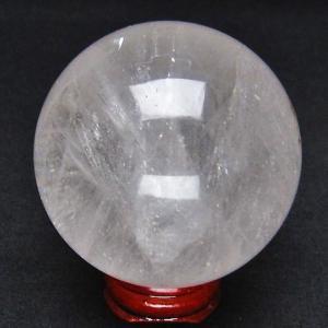虹入り ヒマラヤ水晶 丸玉 59mm  t62-11977|ginza-todo