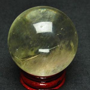 シトリン水晶 丸玉 40mm  t63-5078|ginza-todo