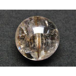 ルチル入り 水晶 丸玉 23mm t637-3004|ginza-todo|03
