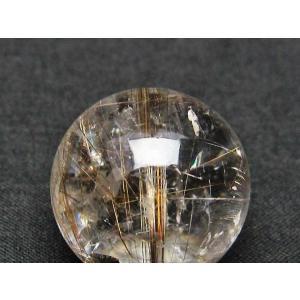 ルチル入り 水晶 丸玉 23mm t637-3004|ginza-todo|04