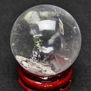 虹入り ガーデン水晶 丸玉 34mm t637-3133 ginza-todo