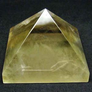 シトリン水晶ピラミッド t648-3261|ginza-todo