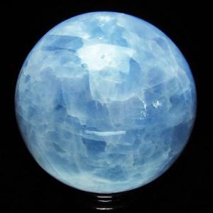 2.8Kg ブルーカルサイト 丸玉 125mm t671-4617|ginza-todo