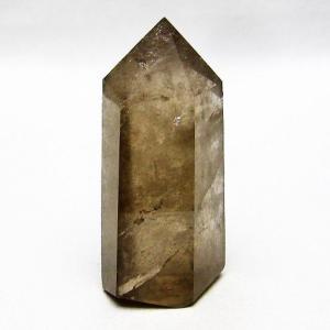 虹入り ライトニング水晶ガーデン水晶 六角柱 t705-4285|ginza-todo