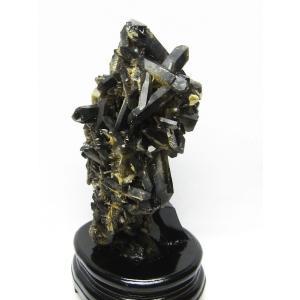 アーカンソー産  黒水晶クラスター t724-1772|ginza-todo