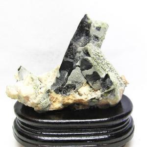 山東省産  モリオン 純天然 黒水晶 クラスター t728-1501|ginza-todo