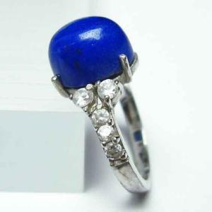 ラピスラズリ 指輪 t746-2741|ginza-todo